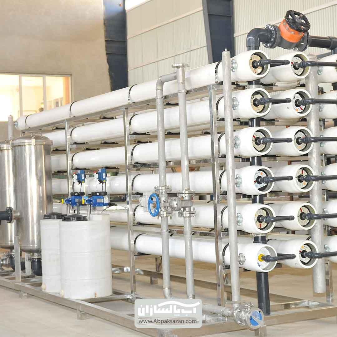 خرید دستگاه تصفیه آب صنعتی