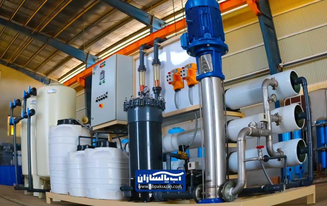 قطعات سرویس تصفیه آب صنعتی